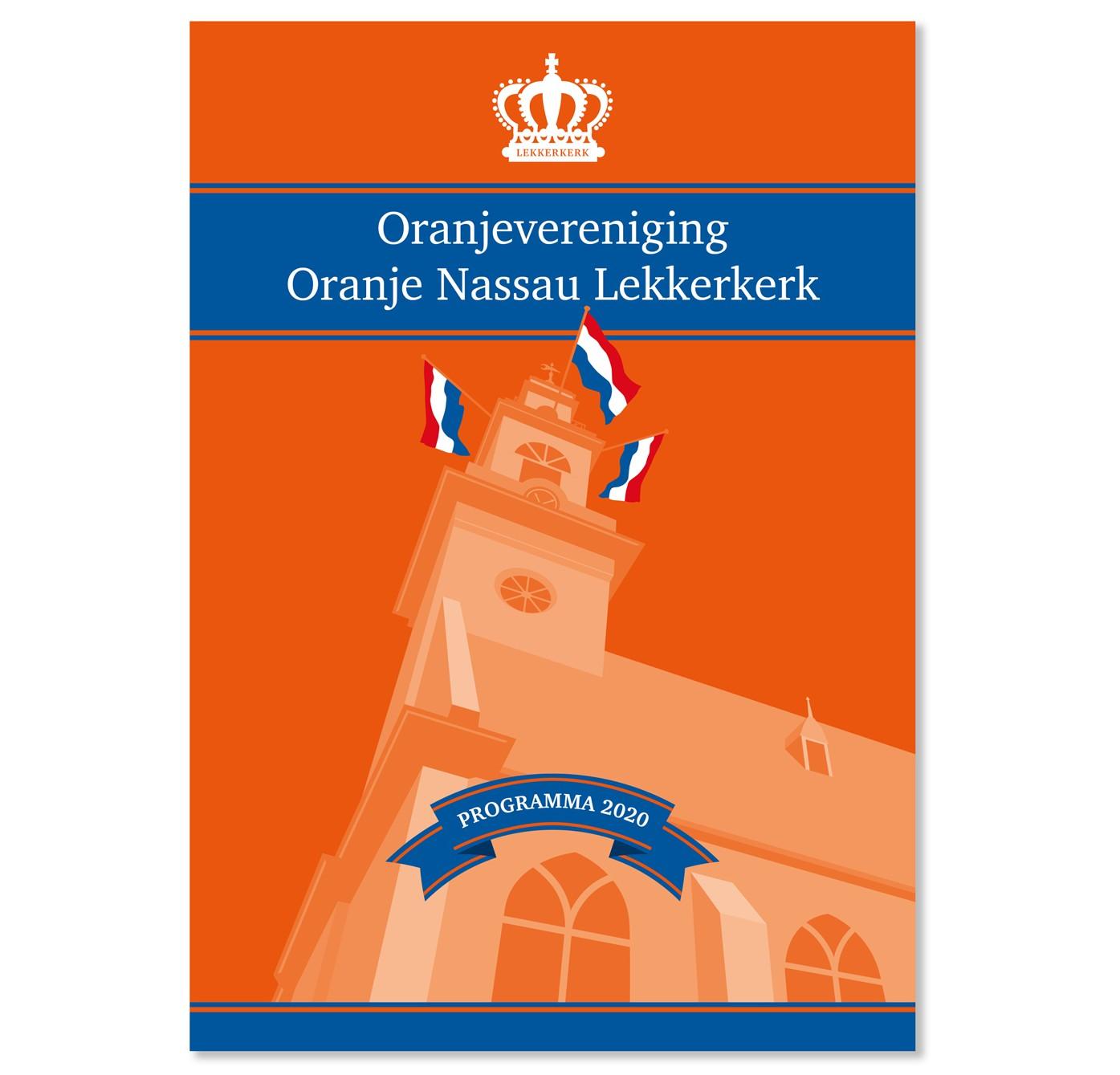 Cover_Boekje_Oranjevereniging_Lekkerkerk