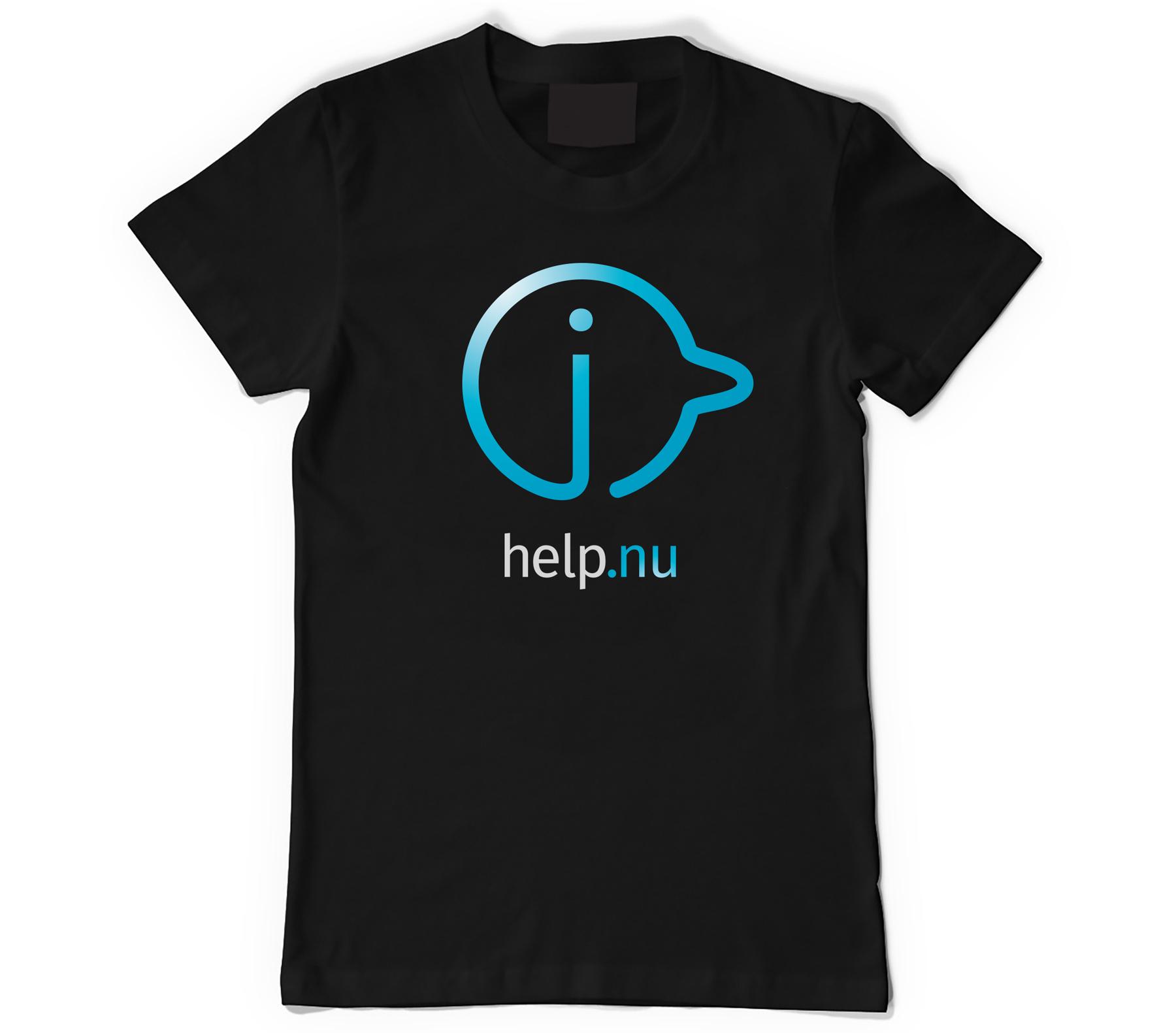 i-help_Shirt_zwart