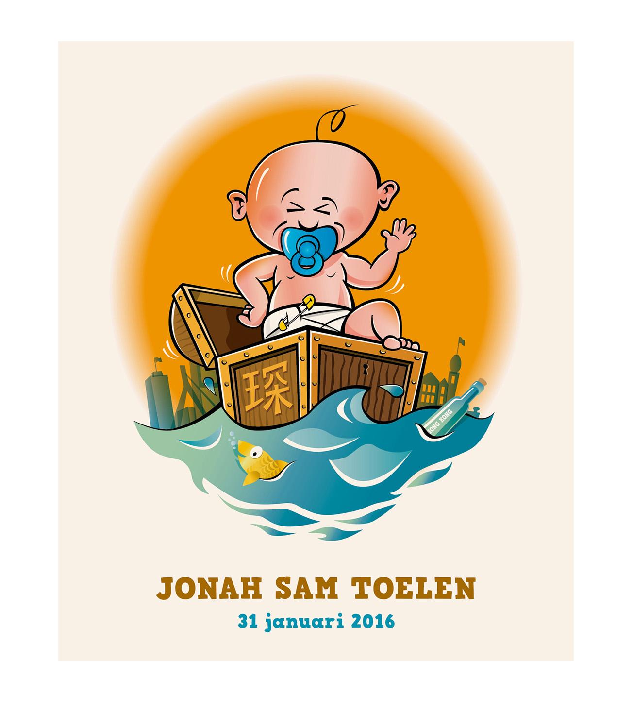 Geboortekaartje_Jonah_Sam_1
