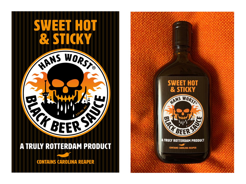 Hans_Worst_Etiket_Black_Beer_Sauce