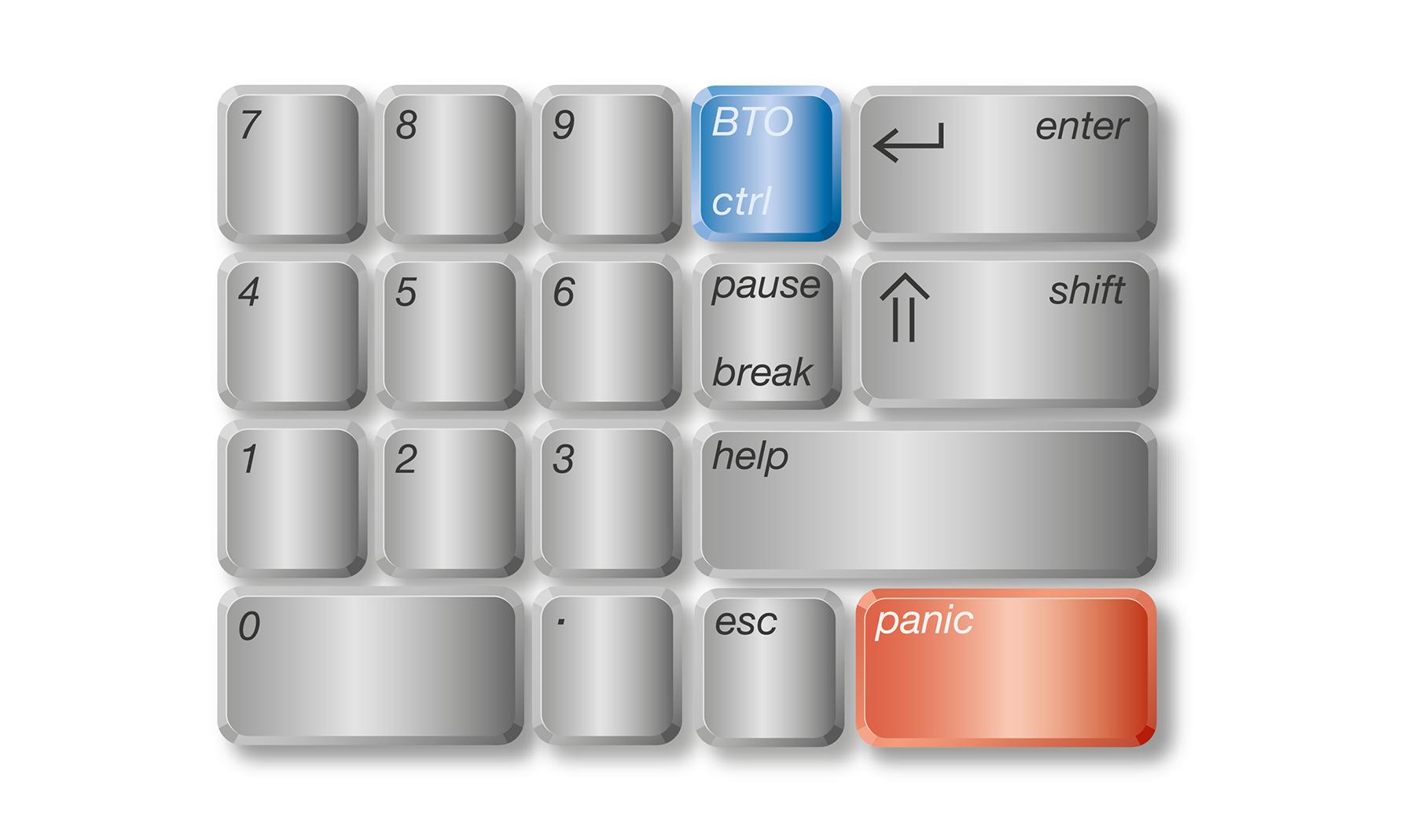 Key-cap (numeriek)