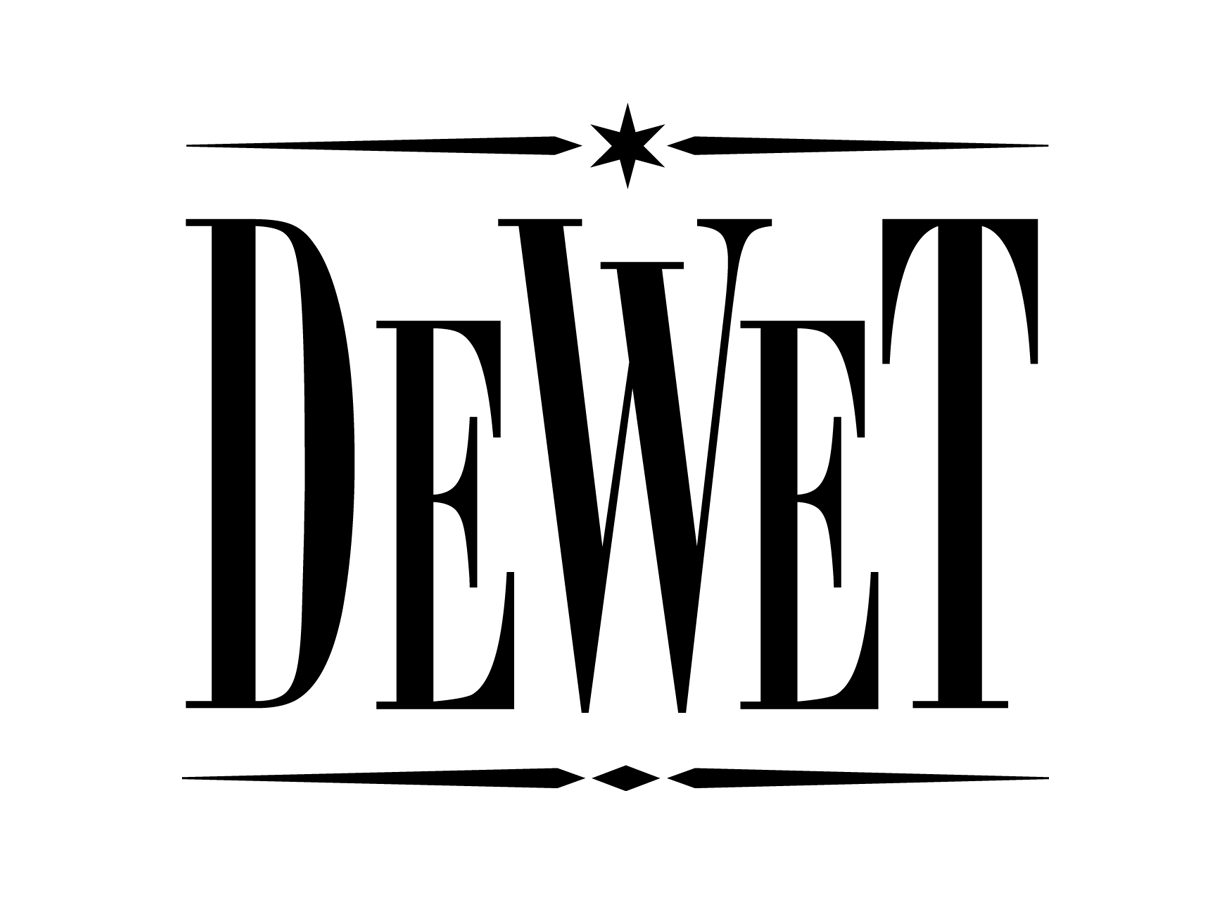Logo De Wet_def_zwart