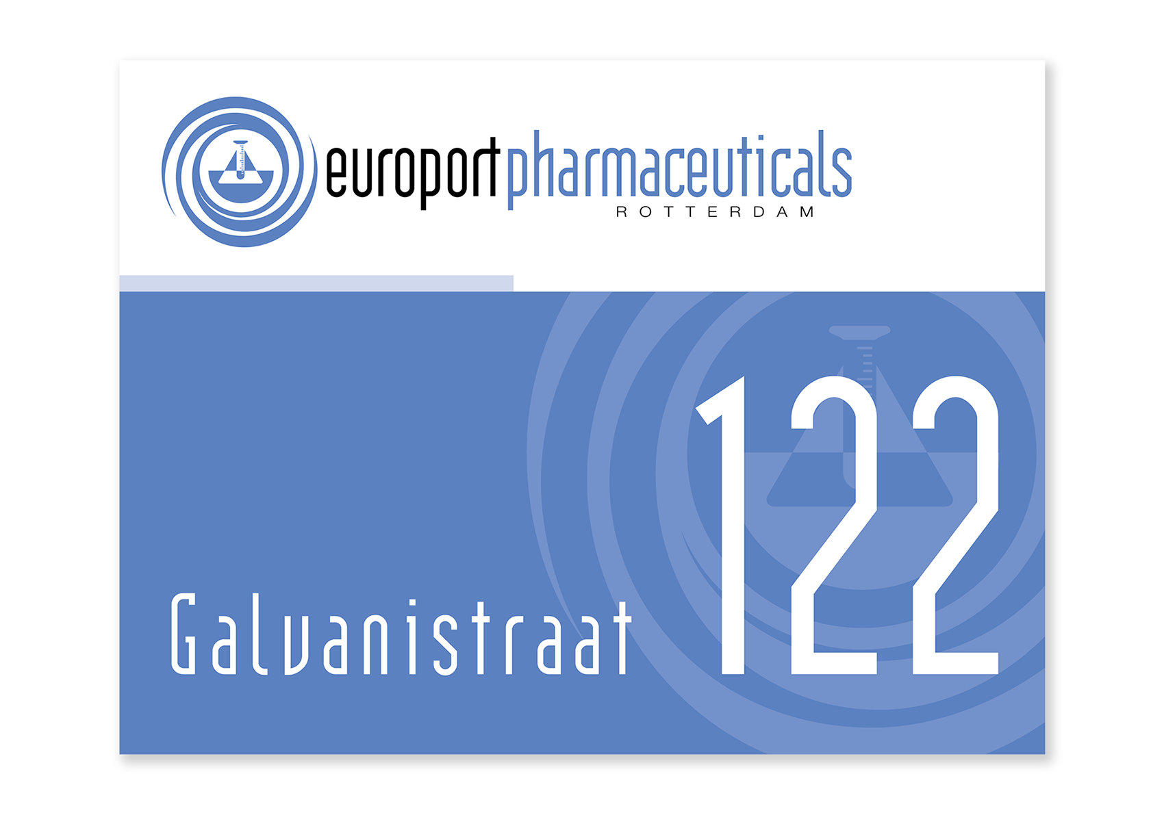 Naambord_Europort Pharma