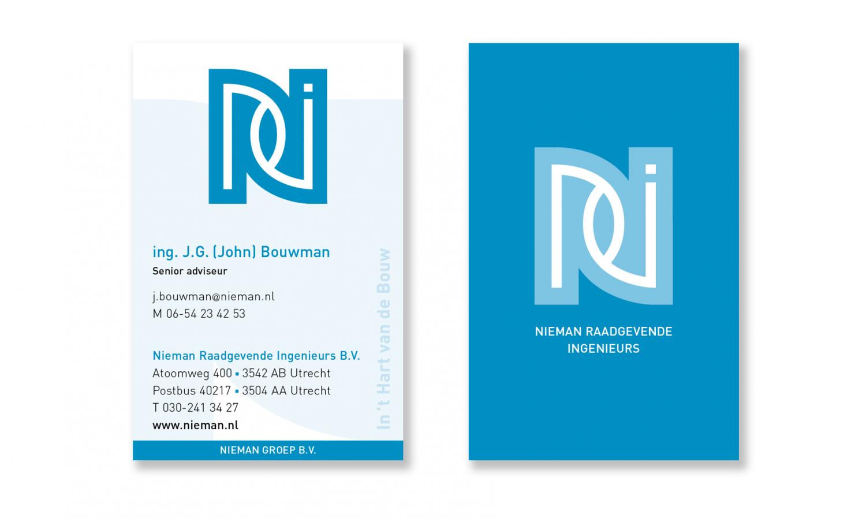 Nieman-Visitekaartjes