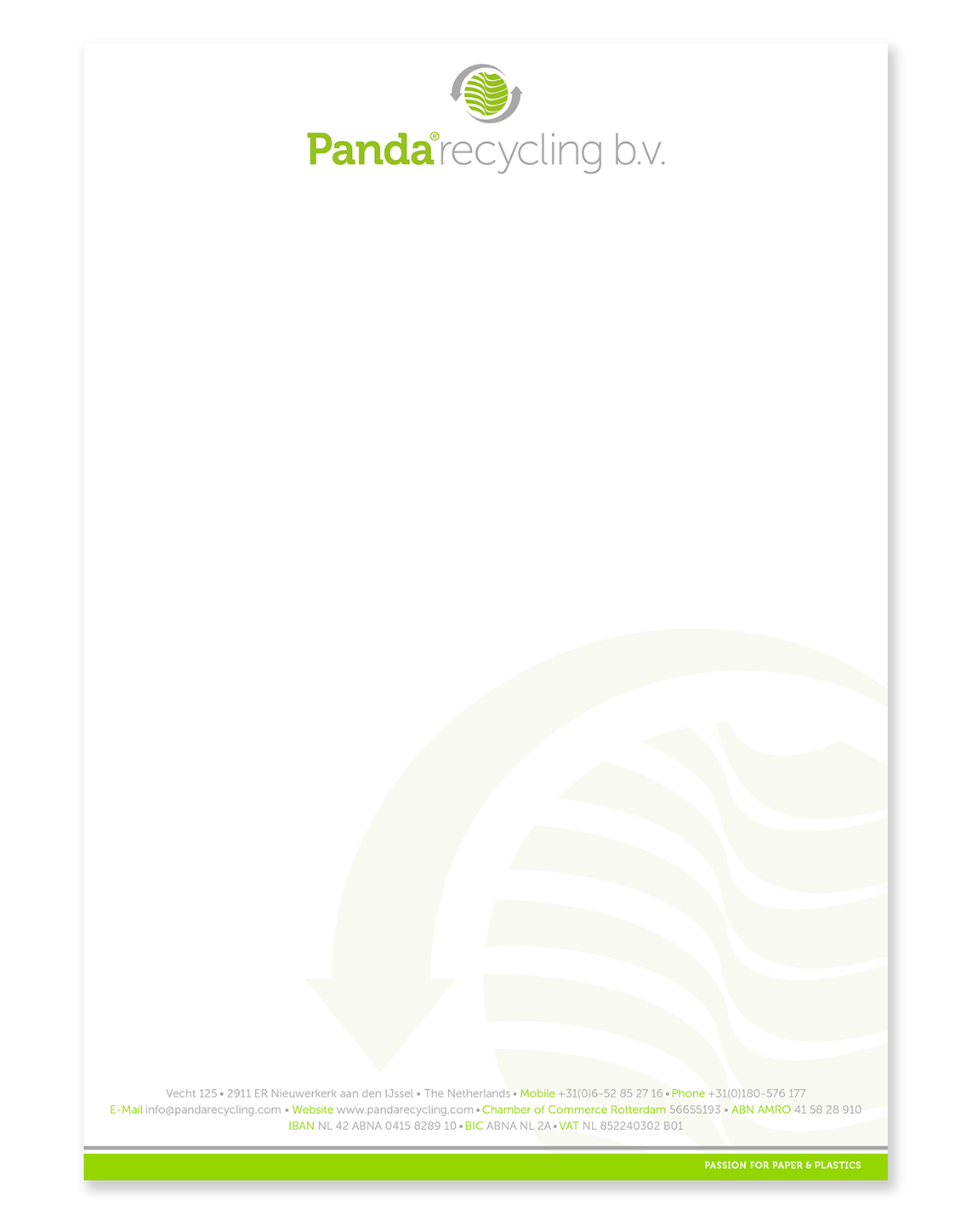 Panda Recycling-Briefpapier_pms