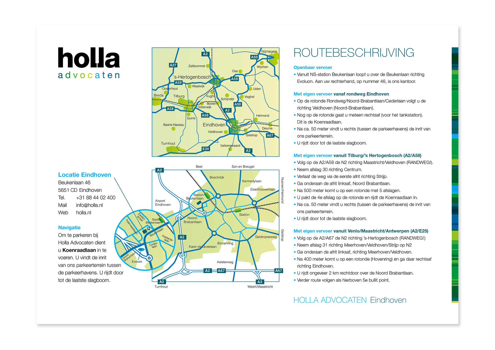Routebeschrijving-Holla_Eindhoven