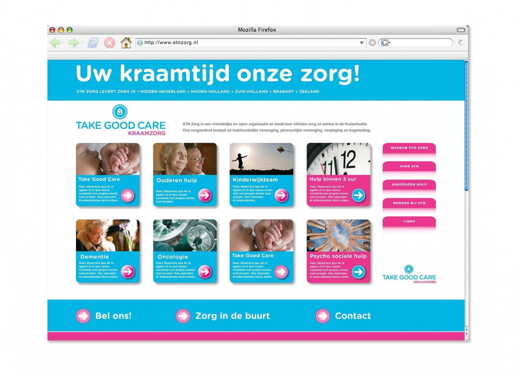 STN Internetsite-Take-Good-Care