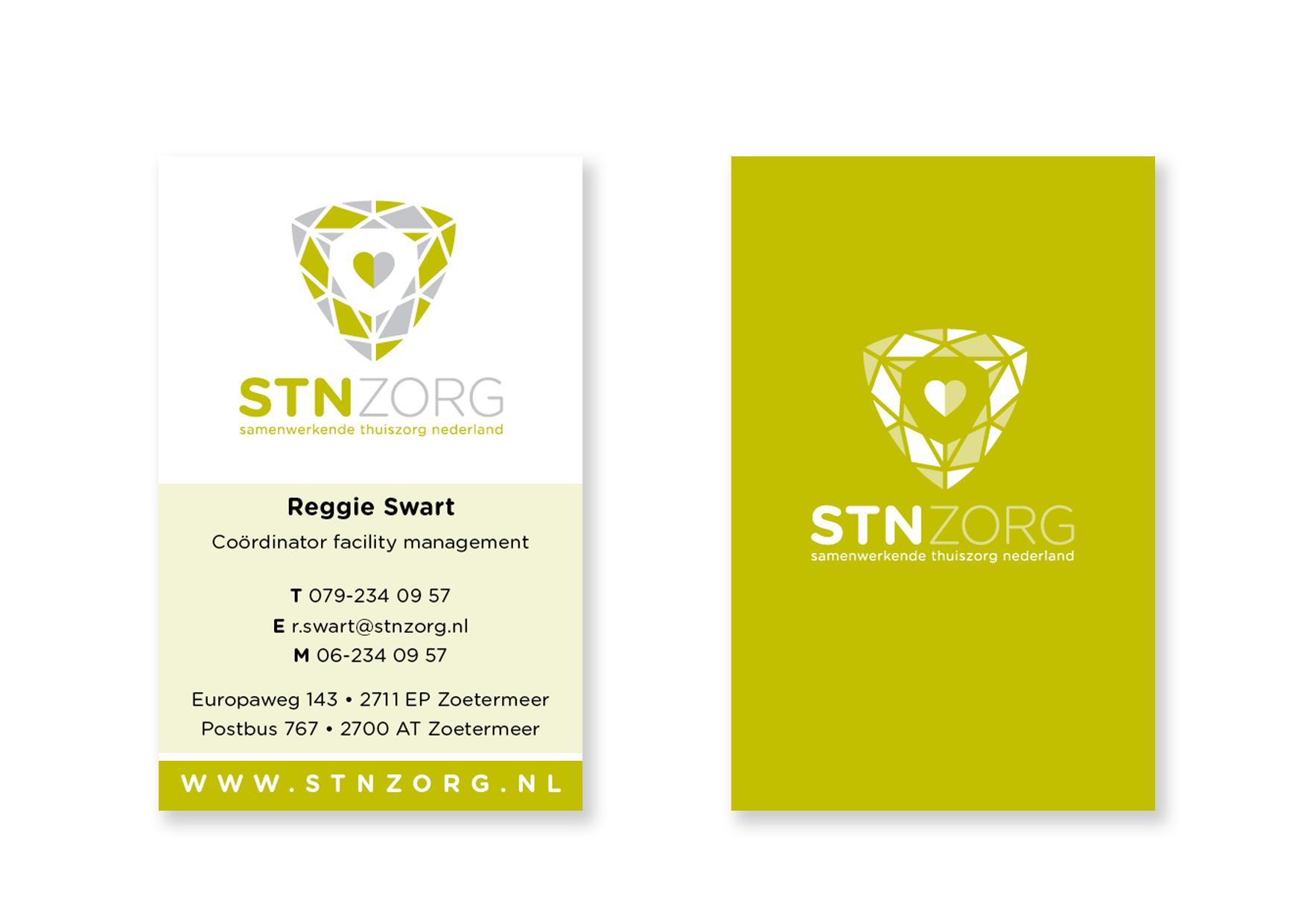 STN-visitekaartjes