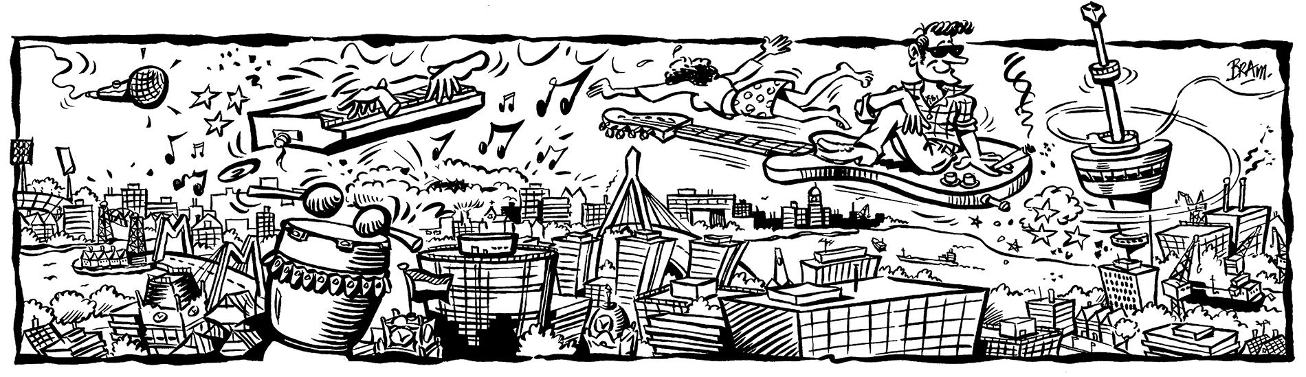 illustratie-Metropolis-Festival