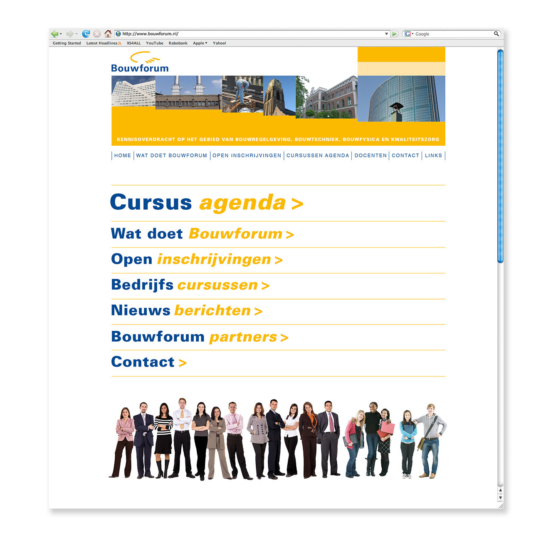 Bouwforum-internetsite